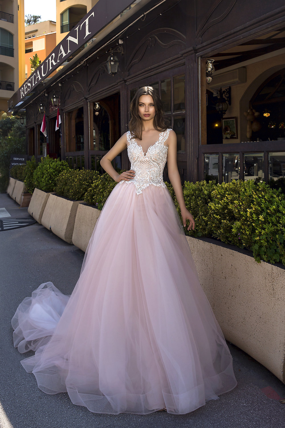 FEDERICA wedding dress by TINA VALERDI