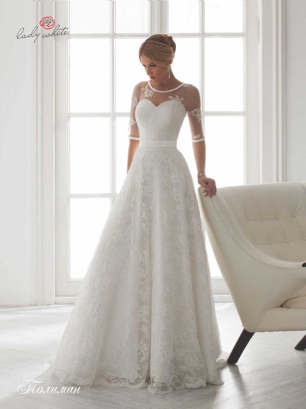 TOLIMAN wedding dress $500