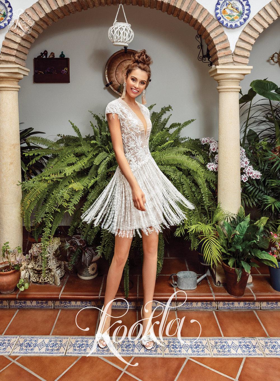 FLEISY wedding dress
