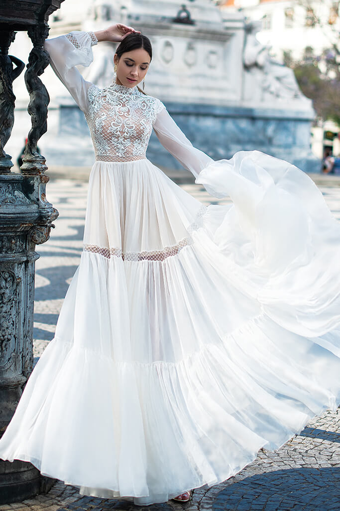 JOICE wedding dress by OKSANA MUKHA