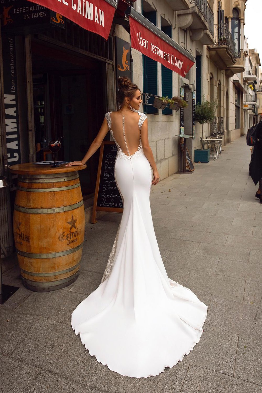 ALEXIA wedding dress by TINA VALERDI