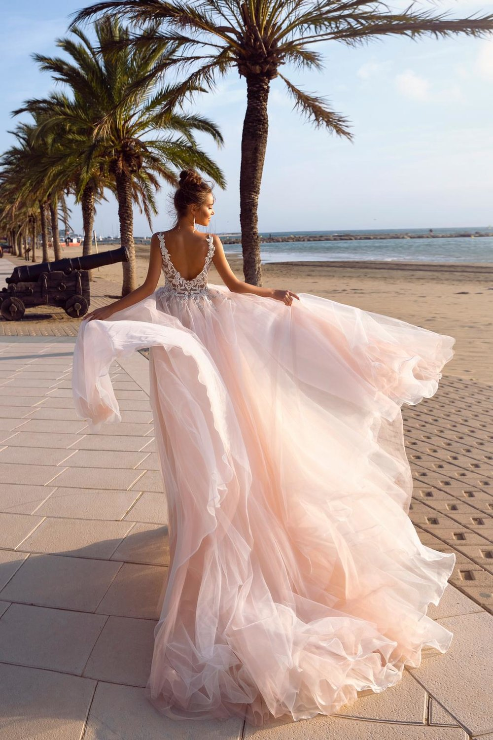 ARIELLE wedding dress by TINA VALERDI