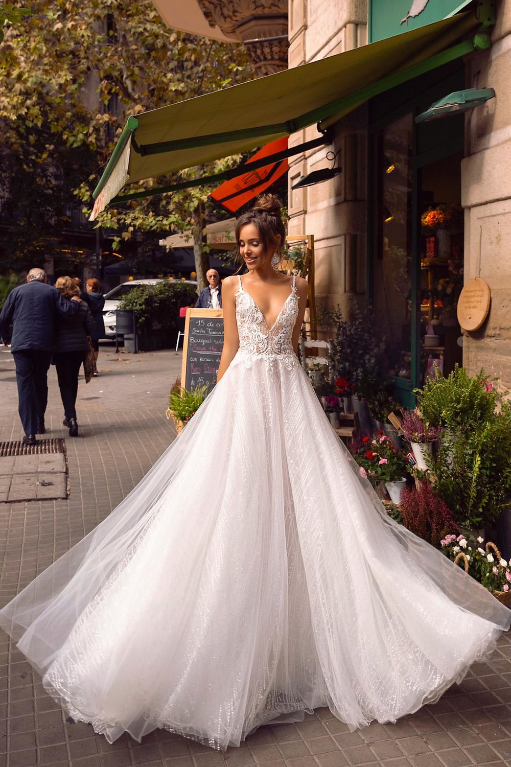 PASSION wedding dress by TINA VALERDI