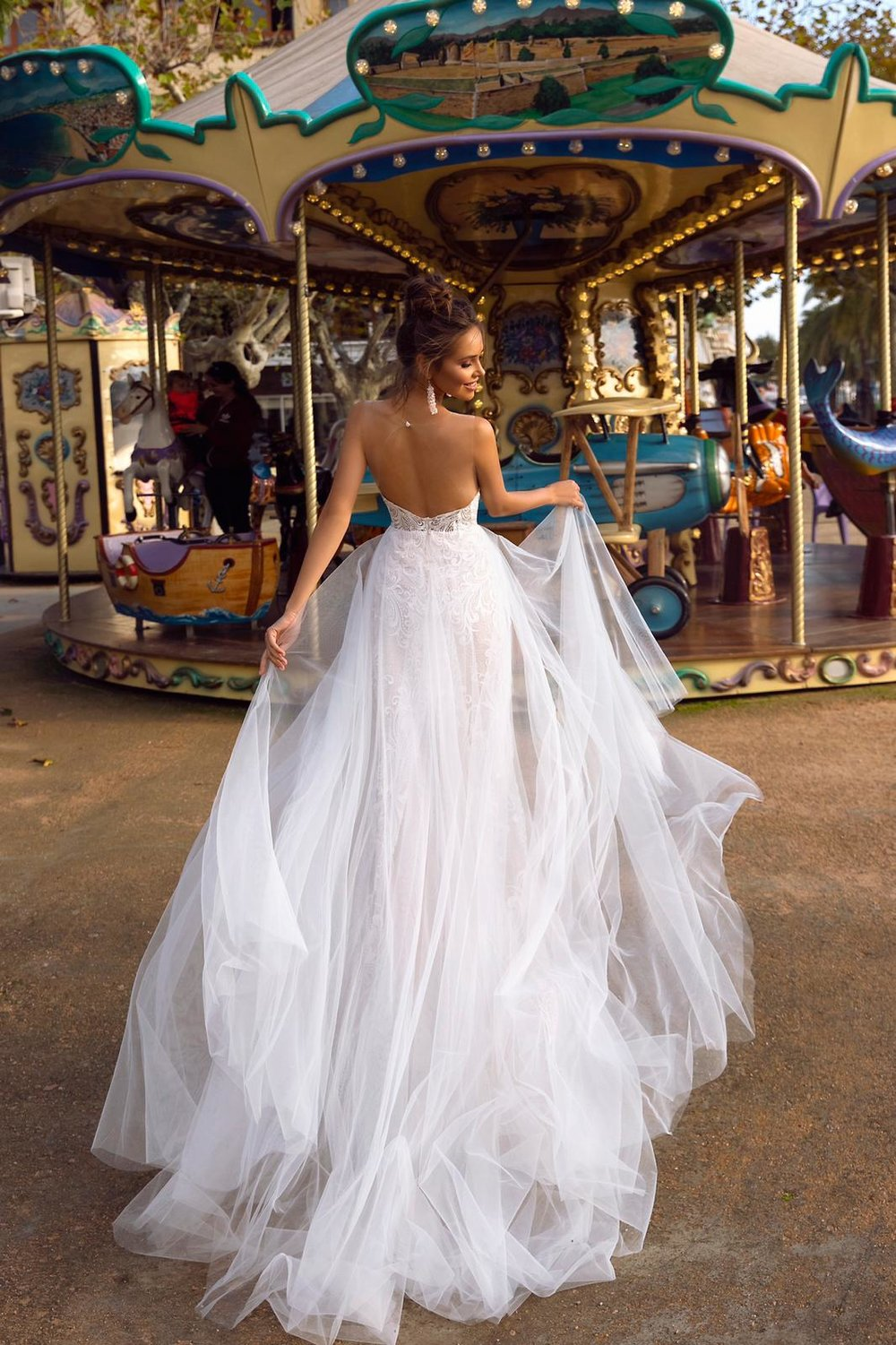 SYLVIA wedding dress by TINA VALERDI
