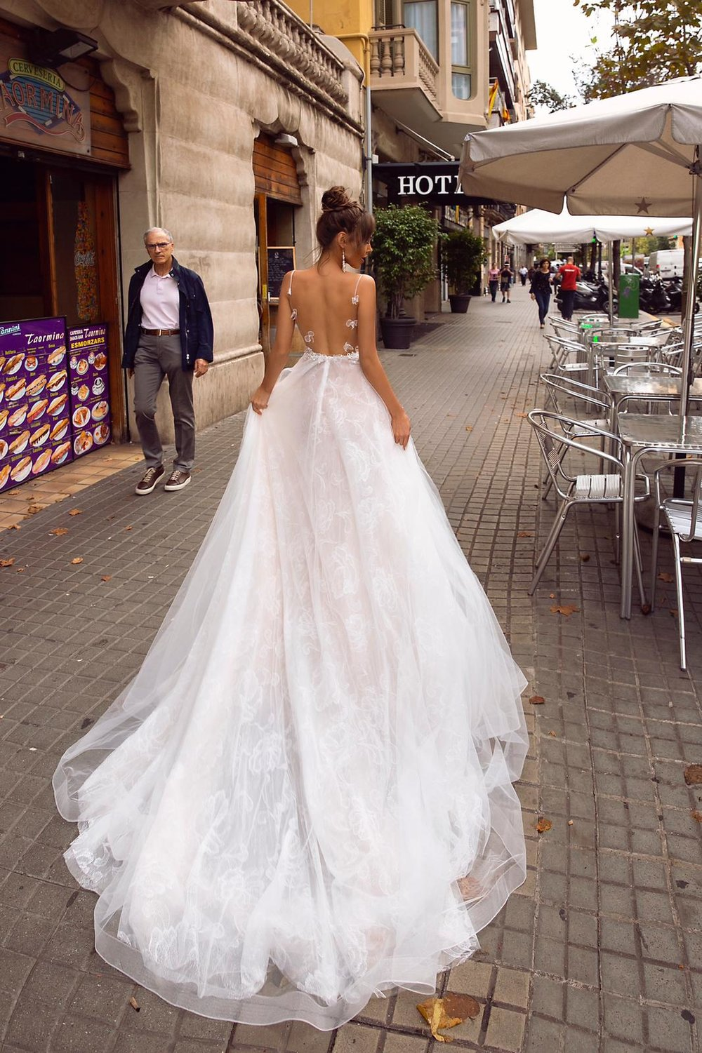 WHITNEY wedding dress by TINA VALERDI