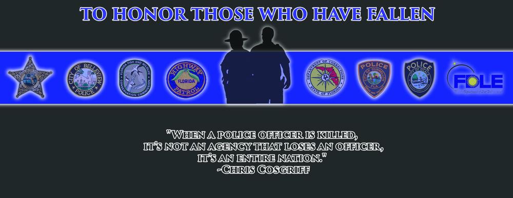 Fallen Officer Memorial Marion County Sheriffs Office