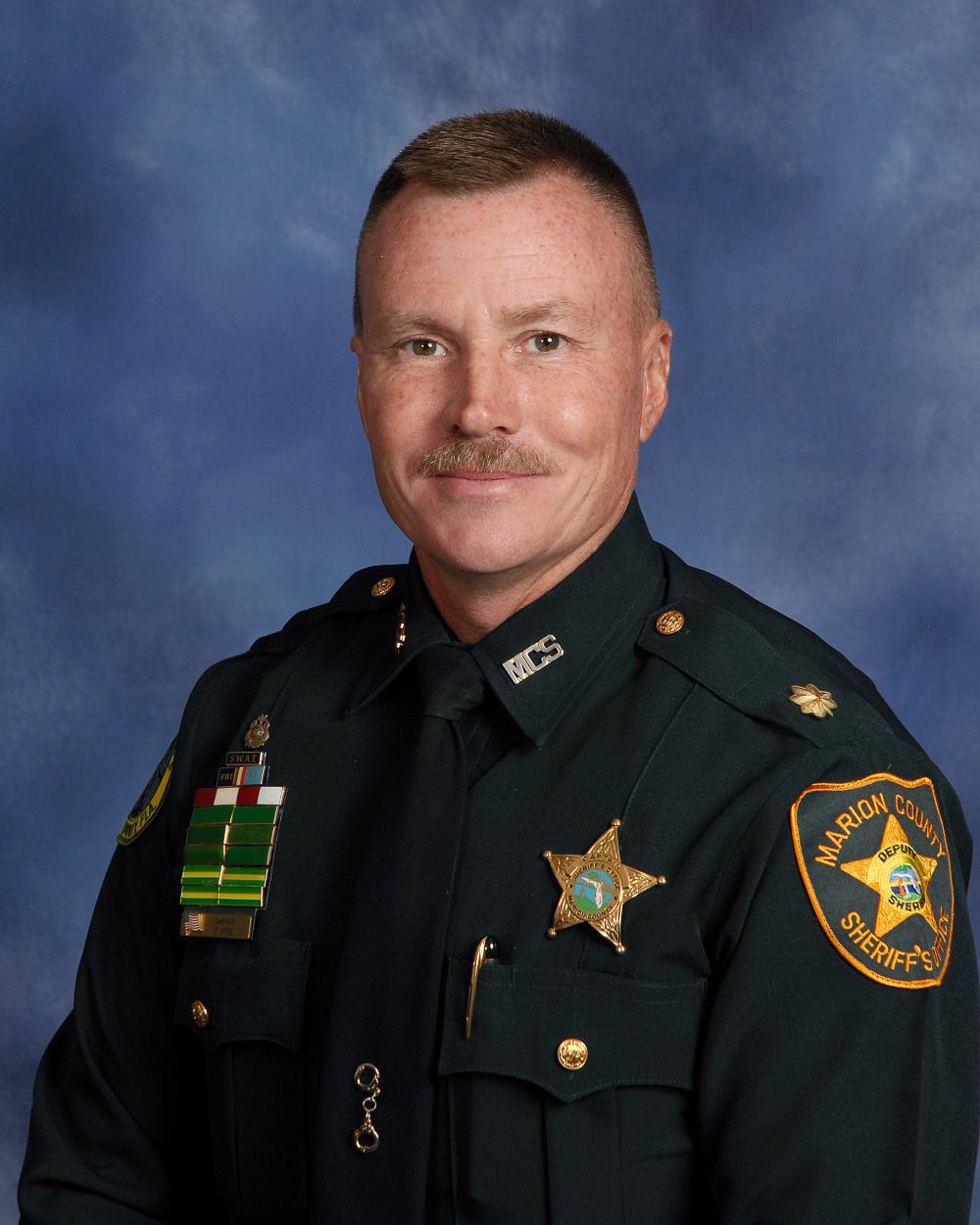 Major Fred Vyse     Bureau Chief    fvyse@marionso.com