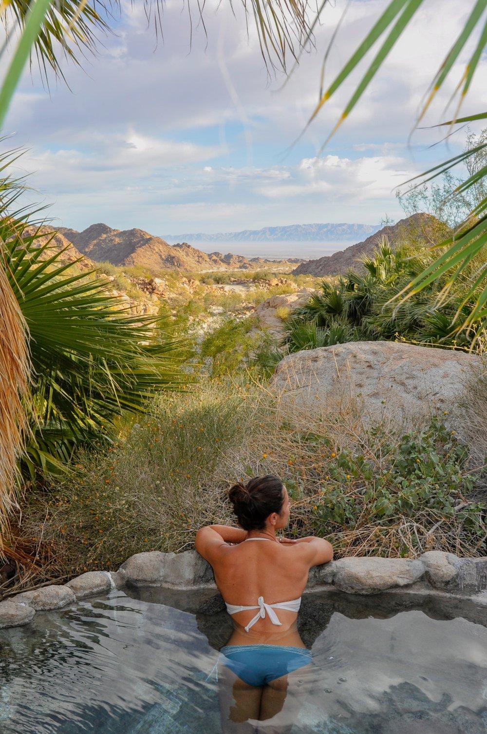 desert hot spring