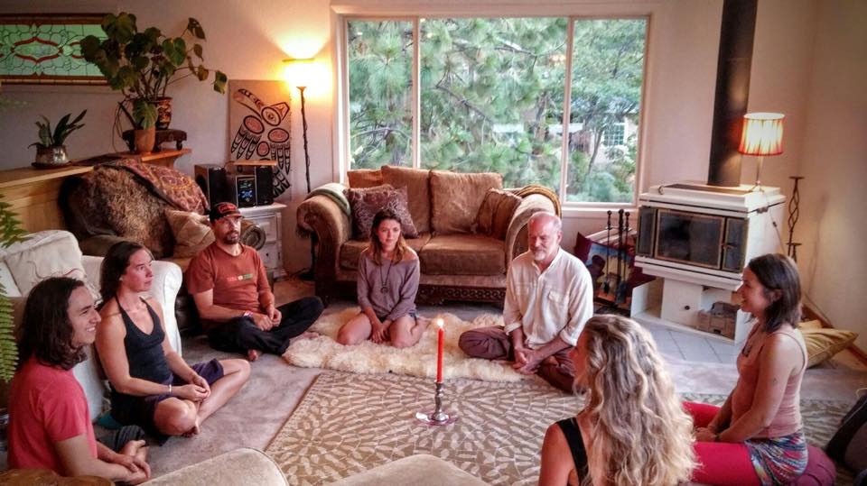 Sacred Synergy Activation July 2015 Ashland, OR  Co-created with my mentors Samantha Sweetwater and Tej Steiner