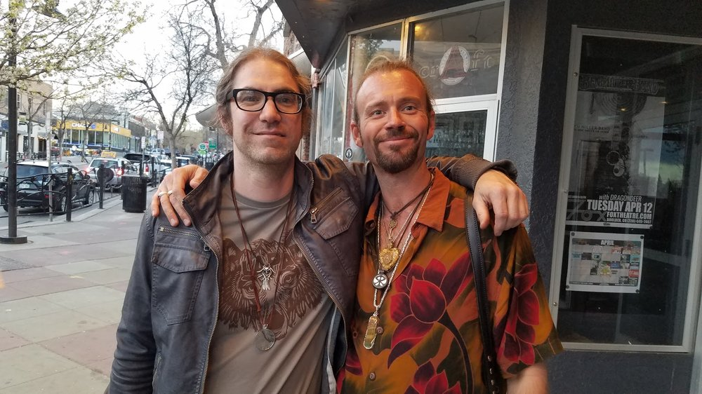Alx with random rab fox theatre boulder, co (2015)