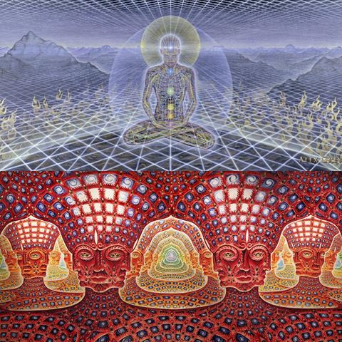 Check out more of alex grey & Allyson Grey art ~     CLICK above to find out more