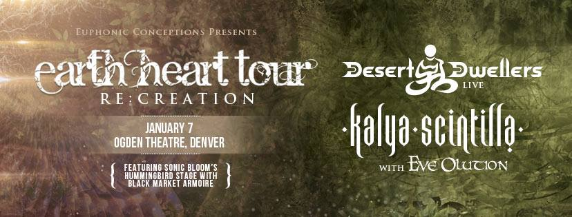 Desert Dwellers & Kayla Scintilla 2016.01.07 OGDEN Next Sat!!