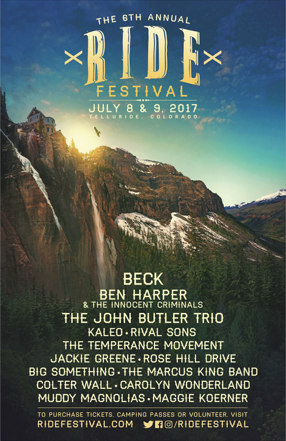 RIDE Festival Returns to Telluride This July 8th and 9th