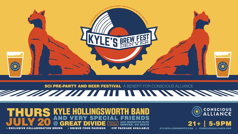 Kyle's Brew Fest - SCI Red Rocks PreParty !!