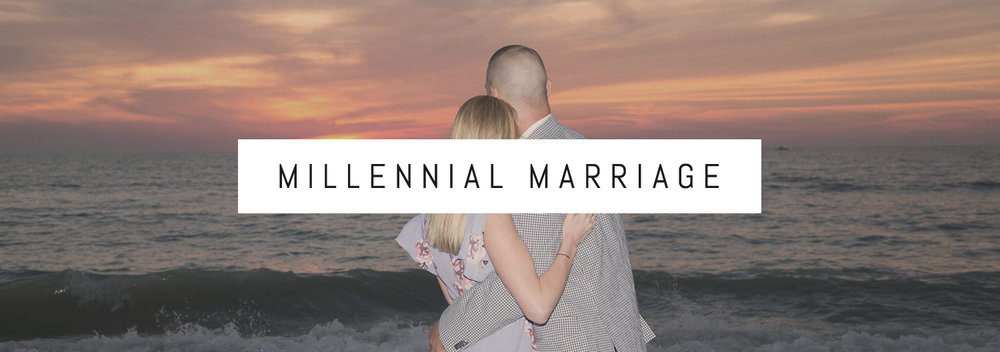 Millennial Marriage