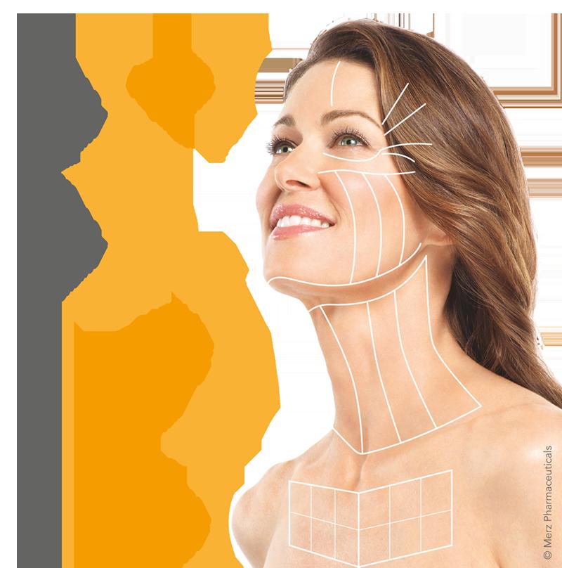 Faltenbehandlung mit Ultraschall: Ultherapy® by Merz Pharmaceuticals
