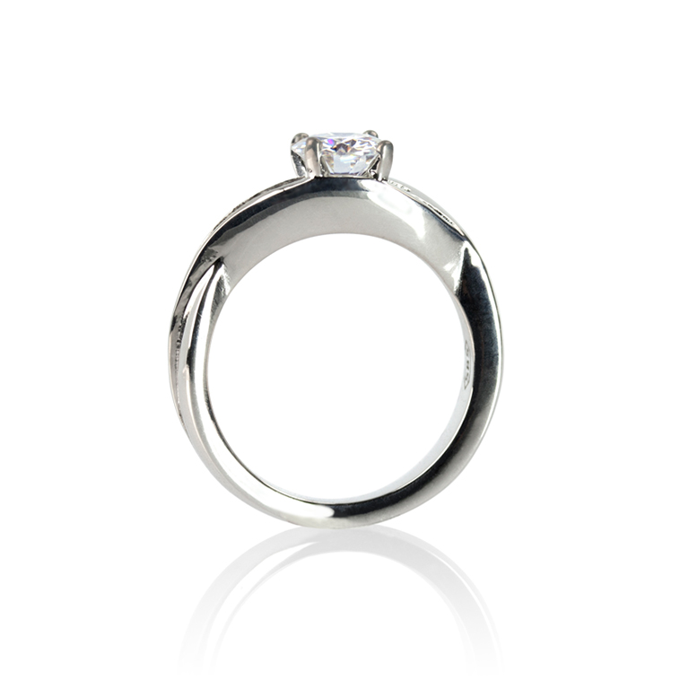 Low-Profile Engagement Ring