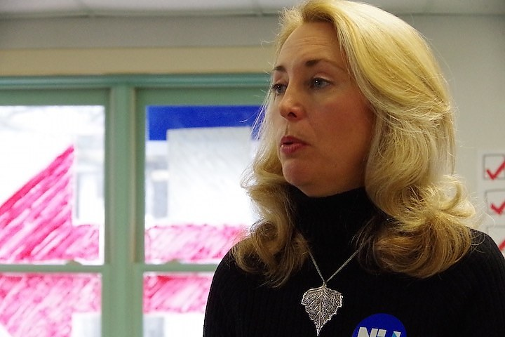 Valerie Plame (Lucy Gellman photo)
