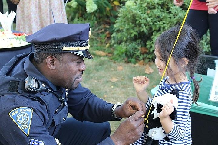 Sgt. Shafiq Abdussabur and Zora Kim (Thomas Breen photo)