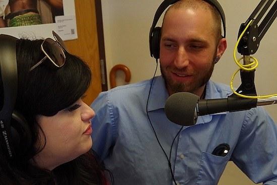 Kelly Bigelow Becerra and Ben Hecht (Lucy Gellman photo)