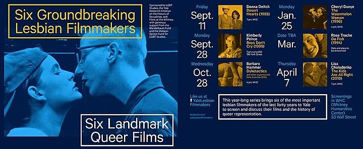 Lesbian Film Series at Yale