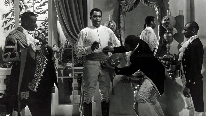 Paul Robeson in  The Emperor Jones  (1933)