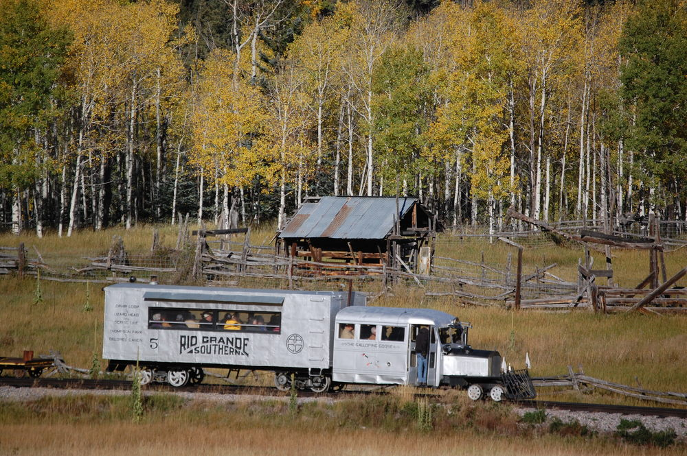 Taken during the Fall Color run on the Cumbres and Toltec Scenic Railway.