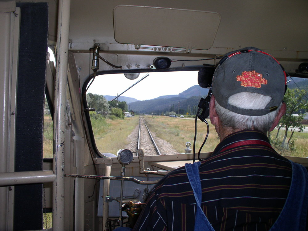 Southbound in Animas Valley - Railfest 2009