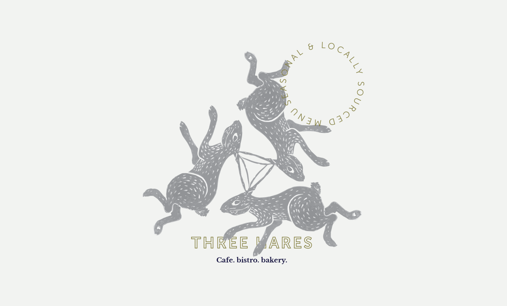 Three Hares Branding