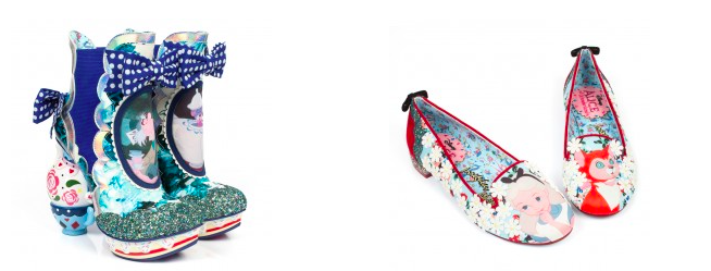 Irregular Choice X Disney's Alice In Wonderland.
