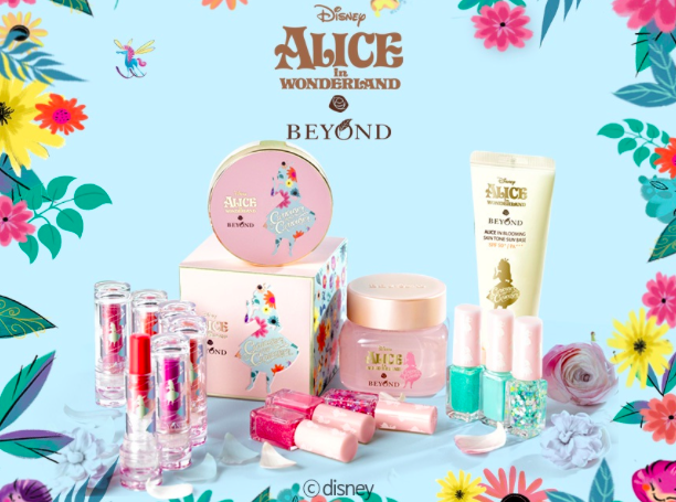 Beyond's X Disney's Alice in Blooming 2016 Mup Collection.