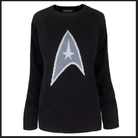 Star Trek Logo Sweater - $48.00