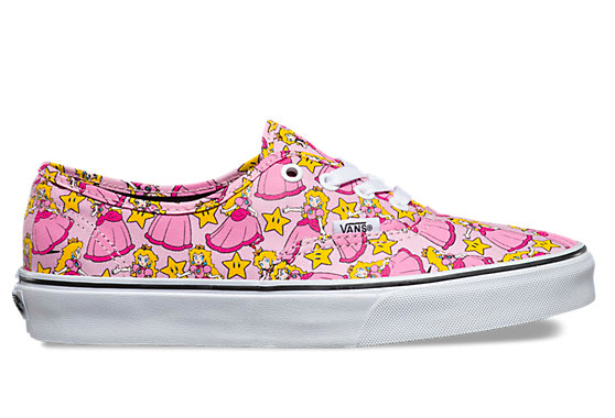 Vans Nintendo Authentic - Princess Peach