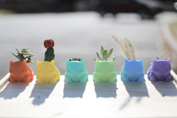 3D Printed Bulbasaur Planters