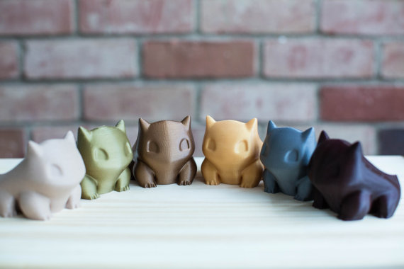 Limited Edition Bulbasaur Planters