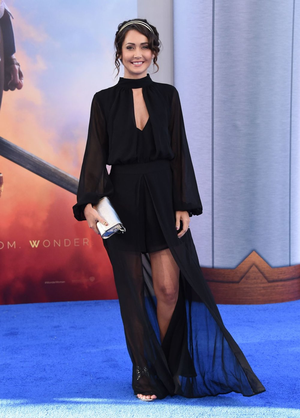 Jessica Chobot Wonder Woman Red Carpet 1
