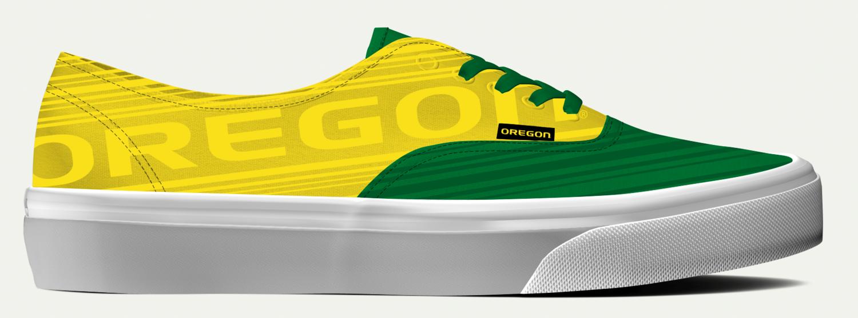38bc8ca4c64b Oregon Ducks Custom Shoes — Brandon Waite - Graphic Design ...