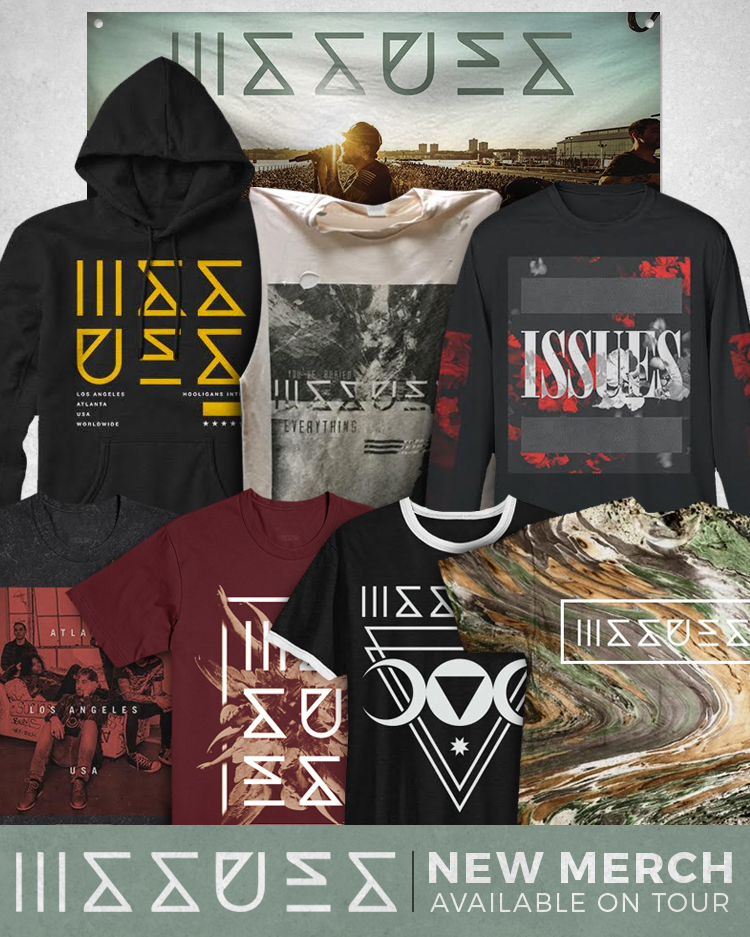 Outbreak Tour merch preview — Issues | Official Site