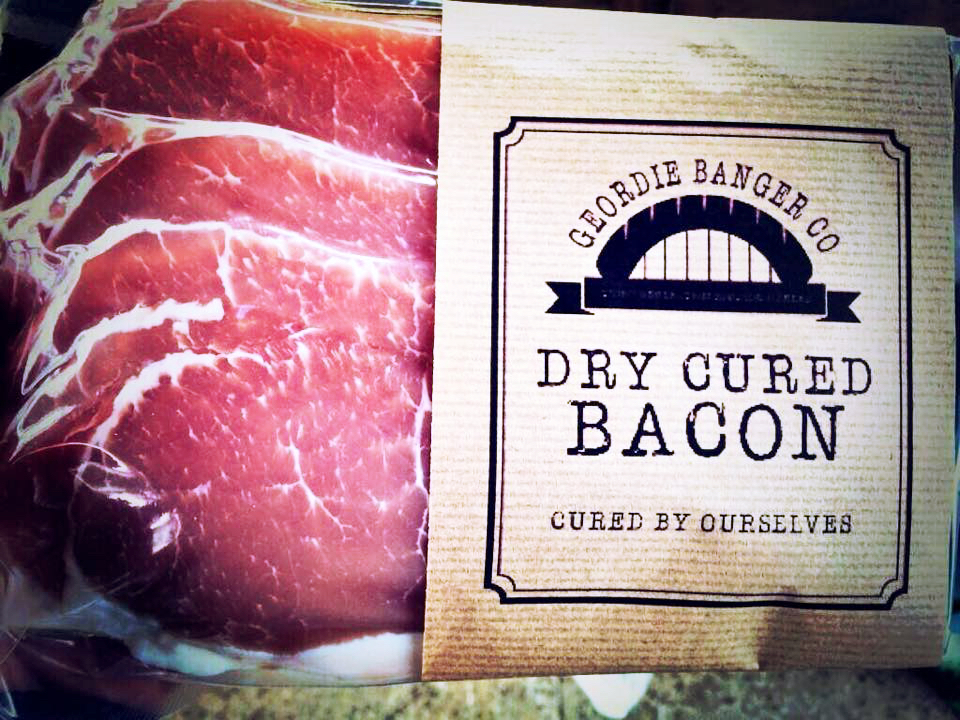 DRY CURED BACON - GREAT BACK BACON CURED BY OURSELVES
