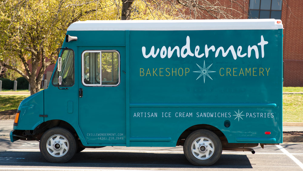 Miss Sandies - Our 19' Ice Cream Truck (pre-decals)