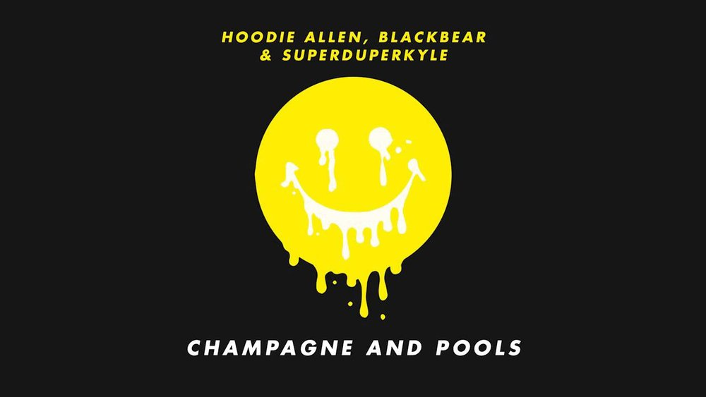 hoodie allan : champagne and pools