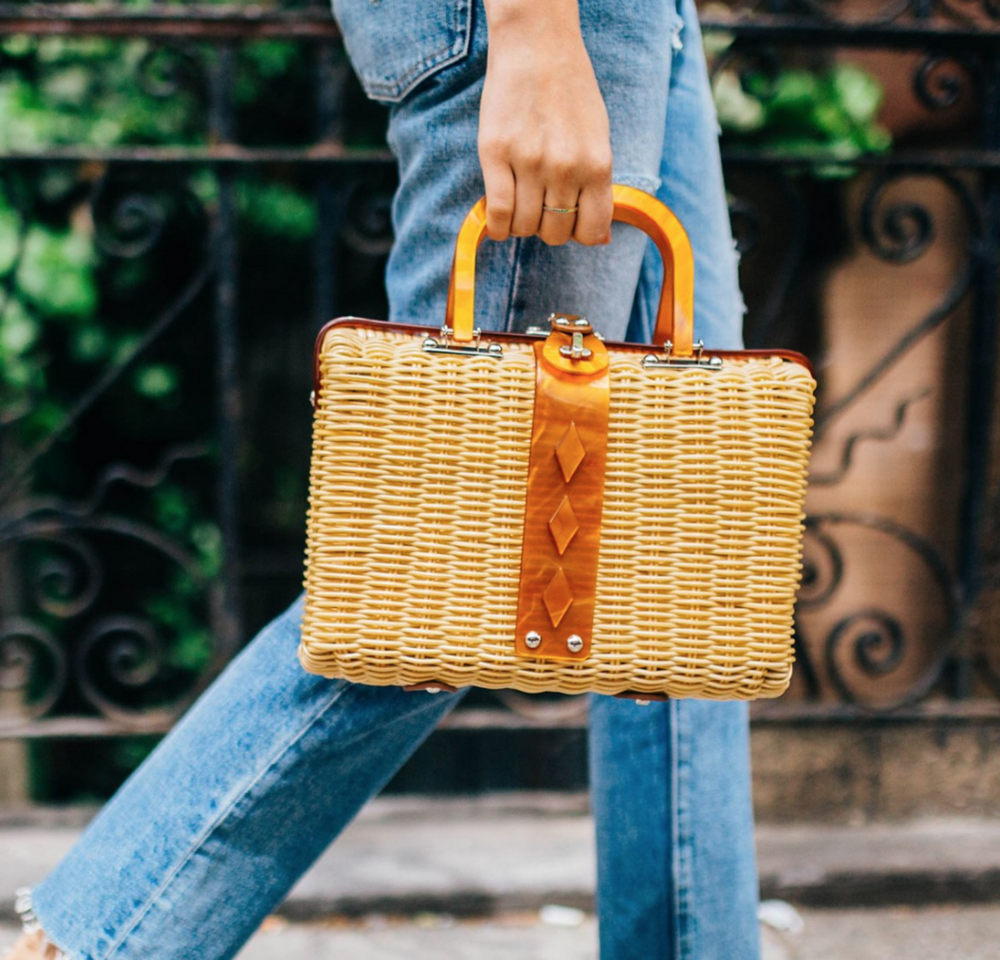 straw bags -