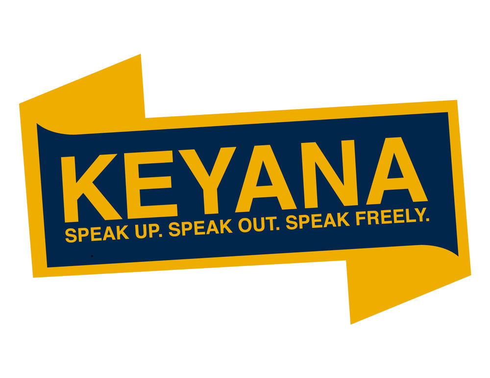 SGA Election Banner for Contestant Nominee Keyana Miller