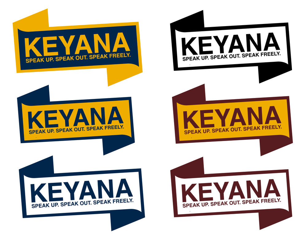 Assorted Color Combinations for SGA Election Banner