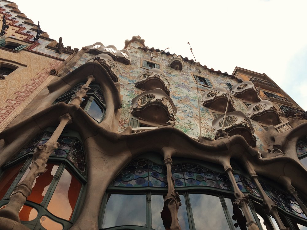 Casa Batlló - by Antoni Gaudi