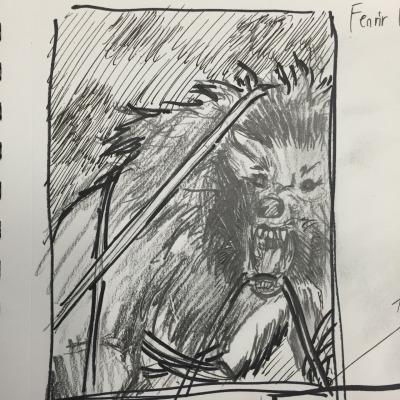 Fenrir Sketch