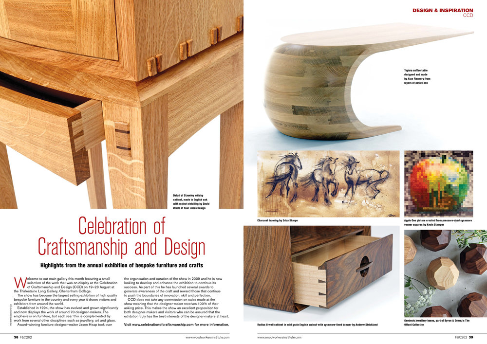 Furniture & Cabinetmaking Magazine / Issue 262 / October 2017