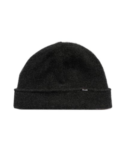 Cashmere   Beanie  - Charcoal  £70
