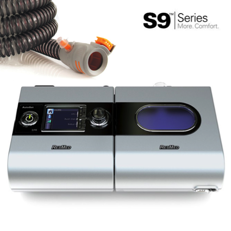 ResMed S9 AutoSet™ CPAP with H5i™ Humidifier & ClimateLine™
