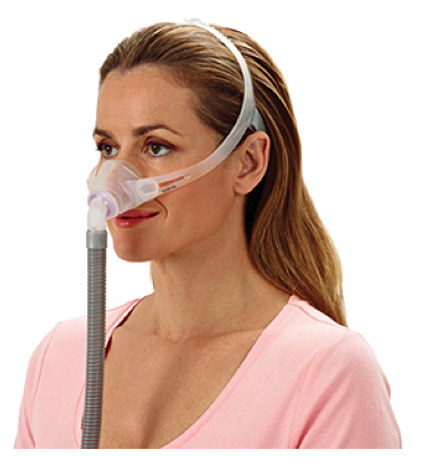 ResMed Swift Fx Nano Nasal CPAP Mask (for Her) with Headgear